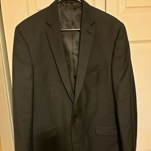 Kenneth Cole Reaction 42L Black Jacket